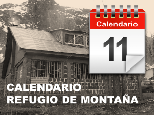 Acceso de Calendario de Refugio CD ACP